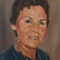 memorial woman painting