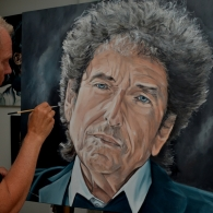 Bob Dylan Ulft portrait
